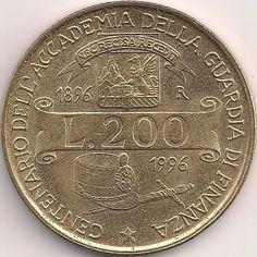 Wertseite: Münze-Europa-Südeuropa-Italien-Lira-200.00-1996