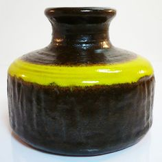 West German Pottery Vase • Carstens