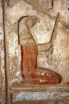 Deir el Medineh, the temple of Hathor