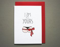 Naughty Love Card Sexy Card for Boyfriend by YeaOhGreetings