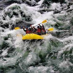 Si eres de los que ama la adrenalina al máximo estás en el lugar correcto 😎😎 ¡Visita el #Pucón para vivir esta experiencia del #Rafting a otro nivel! 🚣♀🚣♀  #Chile #Turismo #Aventura
