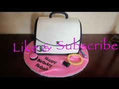 How to make a Fondant Purse Cake - YouTube