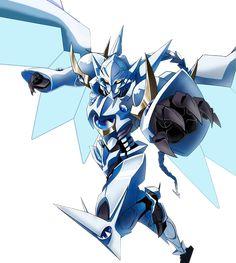 High School DxD White Dragon Vali Lucifer Balance Breaker