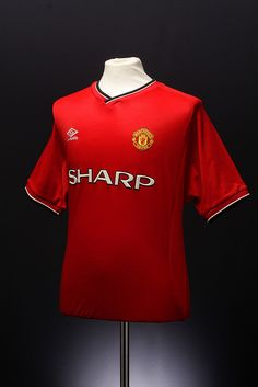 Manchester United Football Shirt (home, 2000 - 2002) Prototype