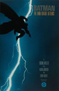 Batman: The Dark Knight Returns. Written by Frank Miller. Art by Frank Miller. Valuable Comic Books, Best Comic Books, Comic Books Art, Comic Art, Dc Comics, Batman Comics, Greg Capullo, Batman The Dark Knight, Comic Book Superheroes