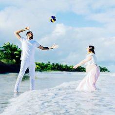 #ideal #volleyball #wedding #sea #beach