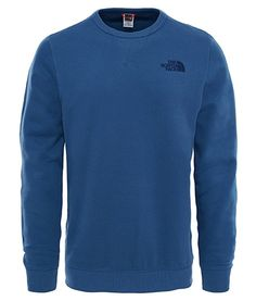 c9adc47e8c The North Face Street Fleece Sweatshirt in Shady Blue colour available from  Brandshop UK with FREE postage and returns.