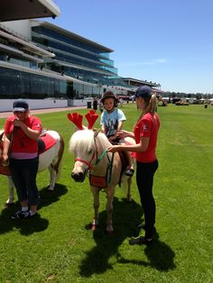 Visit Flemington racecourse in Melbourne for a day at the races with lots of family fun activities like pony rides
