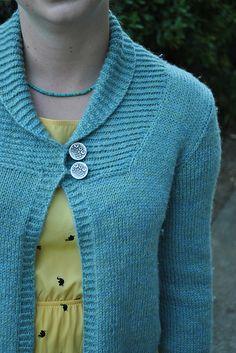 Ravelry: Larch Cardigan pattern by Amy Christoffers