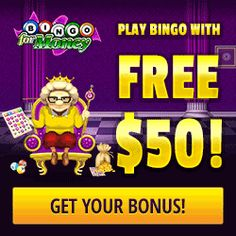 Win Fixed Cash Prizes Having Fun Playing The Best Real Money USA Online #Bingo Games Free With The Latest Bingo For Money Online Bonuses. No Deposit Bonuses.
