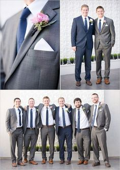 Gold and Navy Wedding gray and navy groomsmen suits Gold and Navy Wedding. Prepare for the dazzling display of gold and navy this next wedding has to offer. Wedding Groom, Wedding Suits, Wedding Attire, Blue Wedding, Trendy Wedding, Wedding Bells, Wedding Colors, Dream Wedding, Wedding Ideas