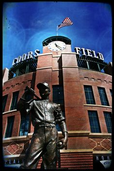 Coors Field, where the #Colorado Rockies play #Baseball
