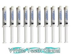 White Teeth Global 10 syringes NEW STRONGEST carbamide peroxide teeth whitening gel Beauty. Dental Supplies, Best Oral, White Teeth, Life Science, Teeth Whitening, Health Care, Skin Care, Ebay, Beauty Stuff