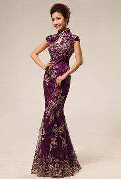 Cheongsam Long Dress XHP067PP