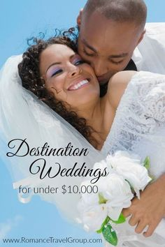 The rumors are true! Having a destination wedding costs less and is easier to plan then a traditional wedding at home. Couples who plan their destination weddings with us are often coming in under $10,000 total for a 3-night/4-day event. So how do we do i