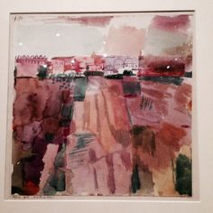 Paul Klee, from Journey to Tunisia