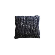 Pillow By Boo Wool Black