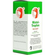 MISTEL TROPFEN Bio-Diät:   Packungsinhalt: 100 ml Tinktur PZN: 00678601 Hersteller: BIO-DIAET-BERLIN GmbH Preis: 10,54 EUR inkl. 19 %…