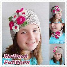 Crochet pattern, Crochet Headband pattern, Ear War