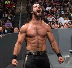 Love Seth,his roar is so sexy! Wwe Seth Rollins, Seth Freakin Rollins, Wrestling Superstars, Thing 1, Shirtless Men, Wwe Wrestlers, Professional Wrestling, Wwe Divas, Wakeboarding