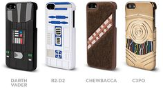 Star Wars Character Cases For iPhone 5