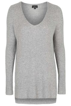 Photo 1 of TALL Ribbed V Neck Jumper