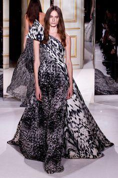 giambattista valli haute couture ss13 - <3 animal print