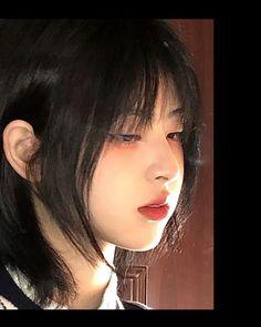Asian Short Hair, Girl Short Hair, Shot Hair Styles, Curly Hair Styles, Cute Makeup, Makeup Looks, Korean Haircut Men, Mullet Hairstyle, Hairstyle Ideas