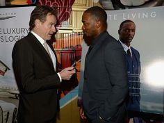 with Anthony Mackie