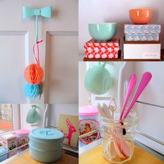 Pastel and a little neon in my home