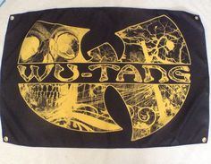 HIP HOP Wut ang Clan quality Fabric poster banner 36x24 easy 2 use and collect #hiphop