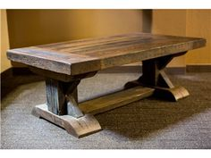 Shop for The Olde Mercantile Gettysburg Cocktail Table, GCT1001, and other Living Room Tables at High Country Furniture & Design in Waynesville, NC - North Carolina.