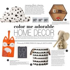 """color me adorable"" by punnky-interiors on Polyvore"