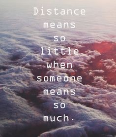 Or it can be so great...when your only, beloved son is in a whole different world and you can't see him, talk with him or hug him....