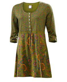 Farb-und Stilberatung mit www.farben-reich.com - Deerberg Shirttunika Dania, wiese - Tuniken - Deerberg
