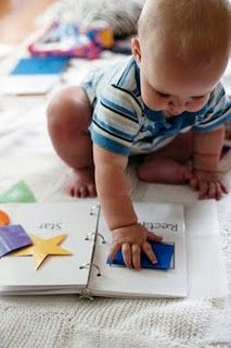 Shape book for baby