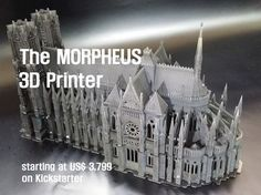 Morpheus 3D Printer : A Whole New 3D Printing Experience project video thumbnail