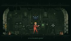 Bunker – an exciting 2d pixel art game, which features F2P elements and very interesting style.