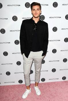 The Best Dressed Men Of The Week: Janis Ostojict at the Beautycon Festival, Los Angeles. #bestdressedmen #janisostojic
