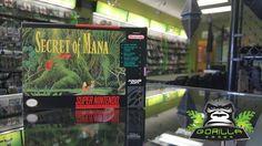 We have a Secret and its CIB... #SNES #SecretOfMana #Retro