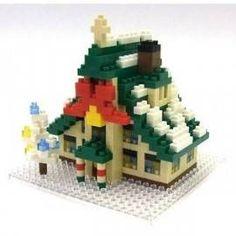 Nanoblocks christmas house