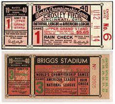 vintage baseball invitation -