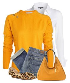 Sunny Weather Sweater by daiscat on Polyvore featuring polyvore, fashion, style, Barneys New York, NIC+ZOE, Paige Denim, Steve Madden and RABEANCO