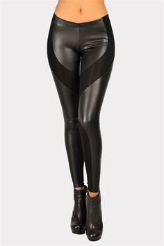 I just really want some leather leggings