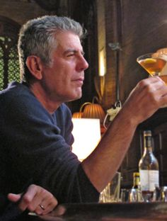 """""""As you move through this life and this world you change things slightly, you leave marks behind, however small.""""  One of my favorite Bourdainisms"""