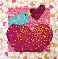 Sweet Tweets Pink Bird from Quilter's Newsletter