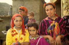 Moroccan Berber family