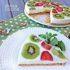 Cocina – Recetas y Consejos Sweet Desserts, Healthy Desserts, Just Desserts, Sweet Recipes, Delicious Desserts, Dessert Recipes, Yummy Food, Comida Diy, Yogurt Recipes