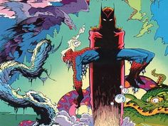 Cuarto y último número de la edición española de la mítica antología de Marvel. Tomo dedicado a la pareja compuesta por la Visión y la Bruja Escarlata.