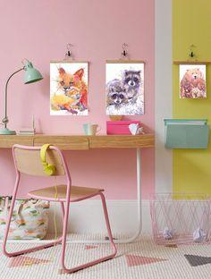 Raccoon painting watercolor fine art prints nursery art by ValrArt
